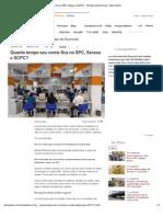 Imprimir - Quanto Tempo Seu Nome Fica No SPC, Serasa e SCPC - 100 Dias de Economia - Extra Online