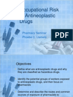 Occupational Risk of Antineoplastic Drugs