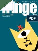 Fringe Programme 2012