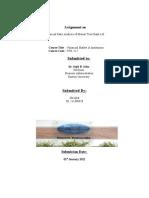 Ratio Analysis - Fin Mkt