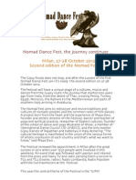 Nomad Dance Fest-Press Release ENG