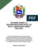 Informe Sobre La Reconstrucción Facial 3D de El Libertador