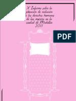 Informe Ddhh Mujeres Volumen i