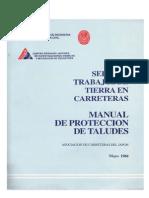 Manual de Protección de Taludes