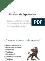 Finanzas de Exportación