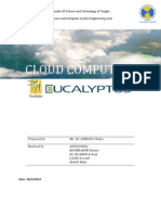 Rapport Eucalyptus CloudComputing