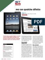 Altroconsumo - Hi Test n°20 - luglio 2010 - Test iPad