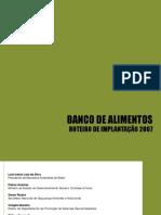 Roteiro de Implantação - Banco de Alimentos - visualização