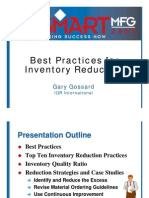 Best Practices for Inventory Reduction