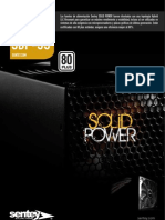 Brochure Sentey PSU Solid Power 80 Plus