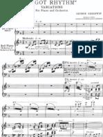 Gershwin - I Got Rhythm Variations (Red. for 2 Pianos)