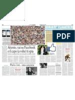 Facebook a Corto Di Privacy