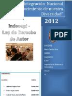 Indecopi-Ley de Derecho de Autor