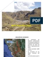 Geología Atacocha 2012
