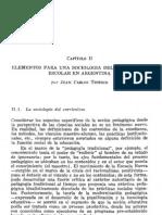 02. Capítulo 2. A. Elementos para una sociología del curriculum...Juan Carlos Tedesco