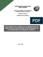 Manual Elaboracion de Reactivos Marzano
