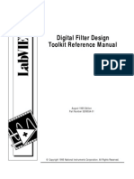 Labview - Digital Filter Design Toolkit Reference Manual