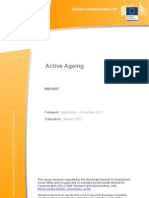 Active Ageing Special Eurobarometer 378