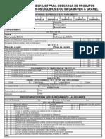 Checklist Para Descarga de Produtos Qumicos Liquidos e Ou Inflamaveis a