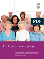 Healthy and Active Ageing