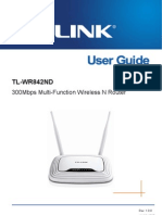 manual del modem Tl-wr842nd  en ingles