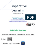 Cooperative Learning With iPads