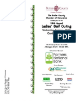 2012 Ladies Golf Brochure
