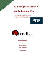 Red Hat Enterprise Linux 6 Installation Guide Es ES