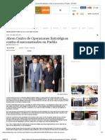 23-04-2012 Abren Centro de Operaciones Estratégicas contra el narcomenudeo en Puebla - pueblaonline.com.mx
