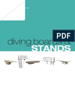Diving boards and stands
