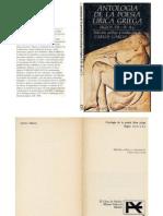 Garcia Gual - Antologia Poetica Lirica Griega
