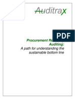 Procurement Recovery Auditing