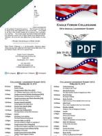 Collegians Program 2012
