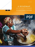 Roadmap to End Global Hunger 2012