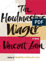 The Headmaster's Wager by Vincent Lam - Excerpt
