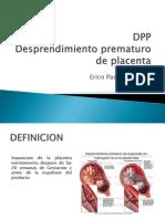 Dpp Desprendimento prematuro de placenta