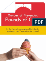 Ounces of Prevention, Pounds of Cure