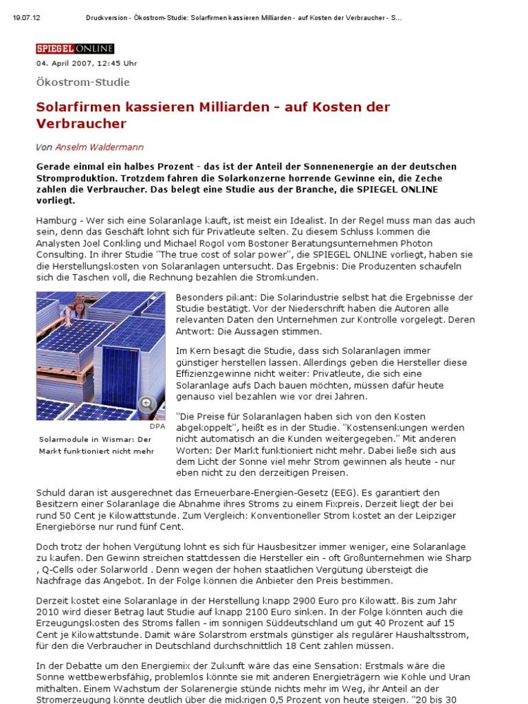 Wunderbar Wie Haushaltsstrom Funktioniert Galerie - Die Besten ...