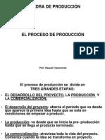 Proceso de Produccion. Desarrollo Del Proyecto