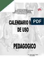 Calendario_Maya de uso pedagógico