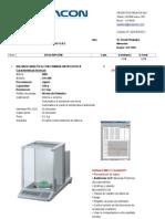 Cotizacion Balanza Analitica y Potenciometro