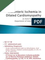 Mesenteric Ischemia in Dilated Cardiomyopathy