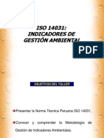 Indicadores ISO 14000