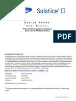 Samsung SolsticeII ATT SGH-A817 English User Manual