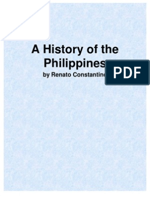 The Philippines: A Past Revisited by Renato Constantino