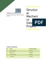 Structural Mechanics Project