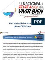Plan Nacional de Rec Reaci On