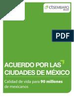 #Reformaurbana Acuerdos Por Las Ciudades v2