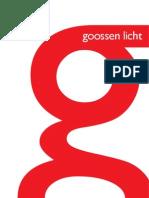 Goossen Licht Katalog