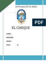 EL-CHEQUE